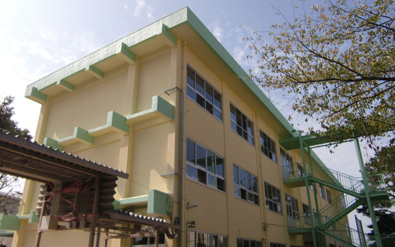 池田小学校第11棟校舎外壁及びサッシ改修工事